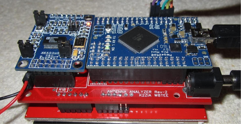 W8TEE and K2ZIA Antenna Analyzer - QRPGuys