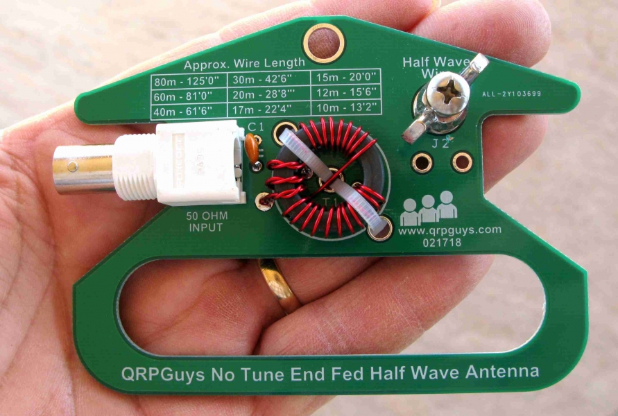 QRPGuys Portable No Tune End Fed Half Wave Antenna - QRPGuys