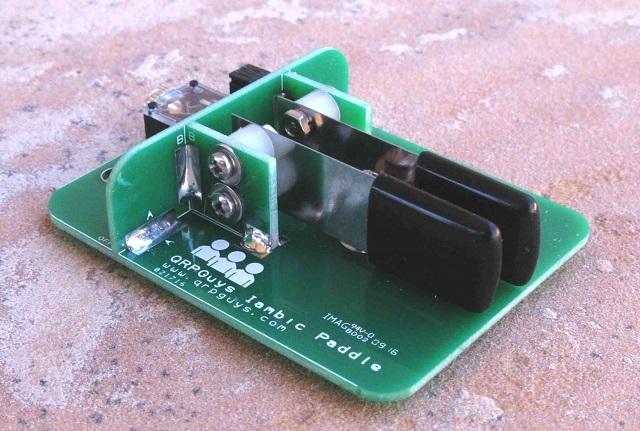Iambic Mini Paddle w/Base - QRPGuys